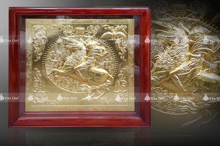 Tranh Napoleon Dát Vàng 24K