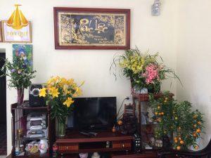Tranh Chữ Phúc Lộc Mạ Vàng 24k