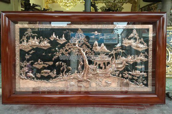 Tranh Đồng Phong Cảnh Đồng Quê