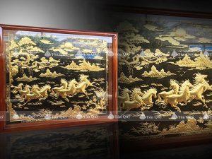 Mã Đáo Thành Công Dát Vàng 24k