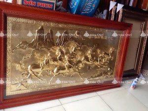 Mã Đáo Thành Công Mạ Dát Vàng 24k