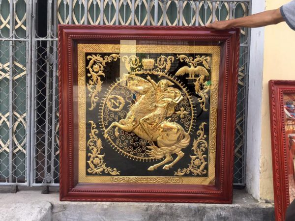 Tranh Napoleon Mạ Vàng 24k